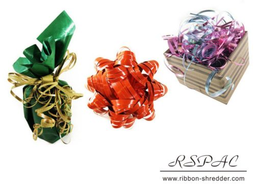 Curling Ribbon Bows for Gift Wrapping