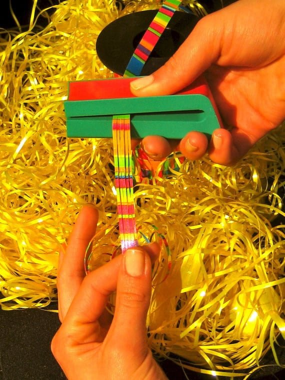 RSPAC™ Ribbon Shredder Curler Tool for Gift Wrapping,Slitting and Curling Poly Ribbon with RSPAC™Ribbon Shredding Tools