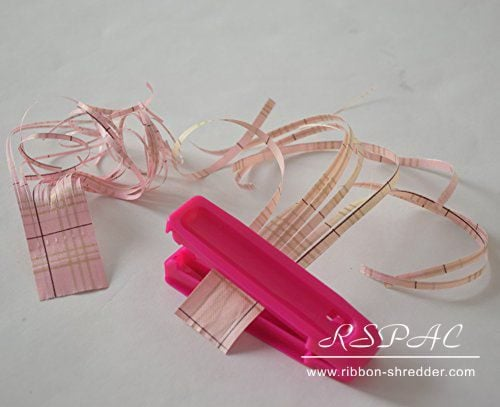Ribbon Shredder with Curler tool Shred and Curl Poly Ribbon Bows