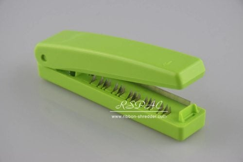 RSPAC™ Ribbon shredder tool with Metal Blade Teeth (Blade) (Lime Green)