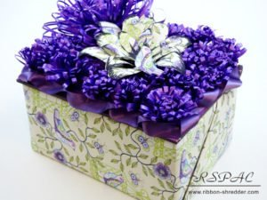 gift and wrap custom gifts with ribbon shredder tool
