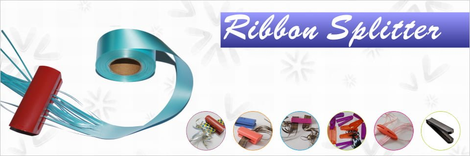 ribbon shredder at curler tool para sa pagbabalot ng regalo
