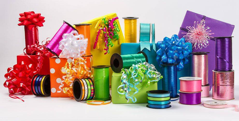 Poly-Ribbon-Bows-Decoration-for-Christmas-Party,RSPAC-Ribbon-Shredder-Factory-and-Manufacturers-in-China