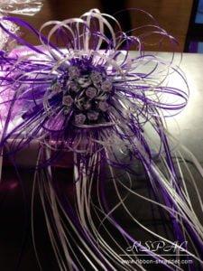 bouquet bows custom gift wrap