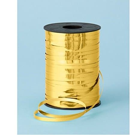 RSPAC(TM) Curling Ribbon Roll Crimps Gold Balloon Ribbons for Party and Festival Decoration, Crafts and Gift Wrapping