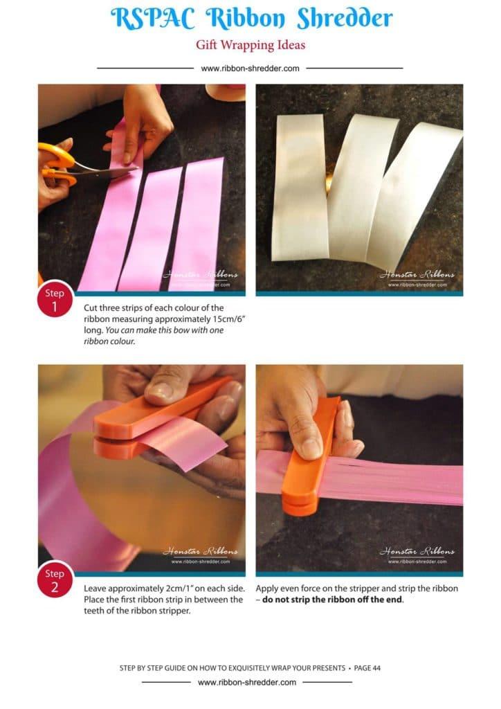 Confezioni regalo Culring Strippers Ribbon, Nastro Shredder strumento bigodino per confezioni regalo