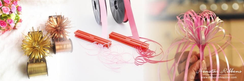 RSPAC Double Sided Ribbon Shredder Curler Tool for Gift Wrap