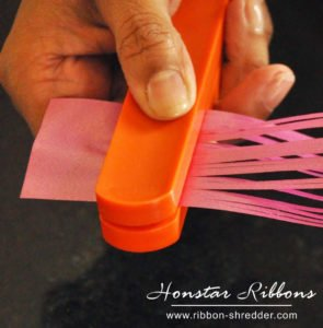 shred and curl ribbons