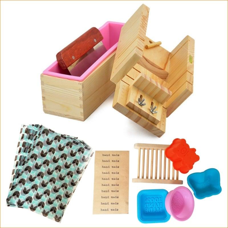 Handmade Adjustable Wood Soap Molds