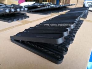 RSPAC RIBBON SHREDDER IN PRODUCTION